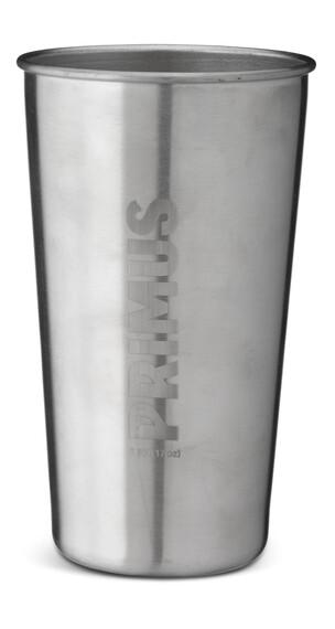 Primus CampFire Drikkeflaske Stainless Steel sølv